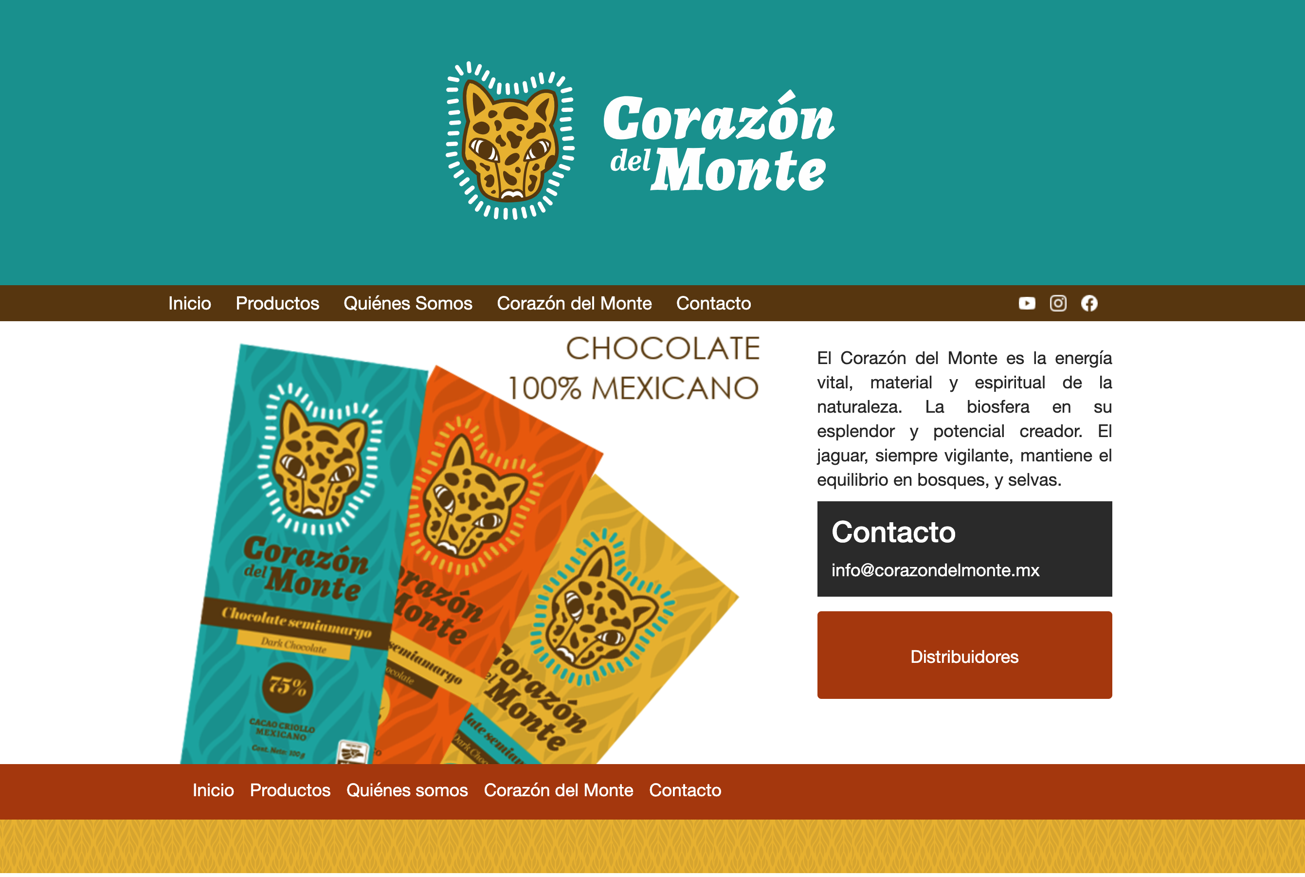 corazon del monte, Chocolateria.